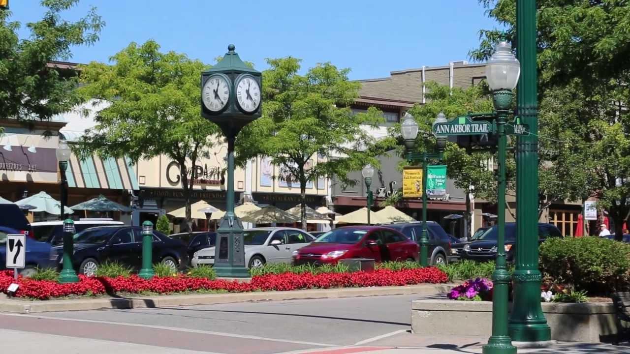 downtown Plymouth, MI