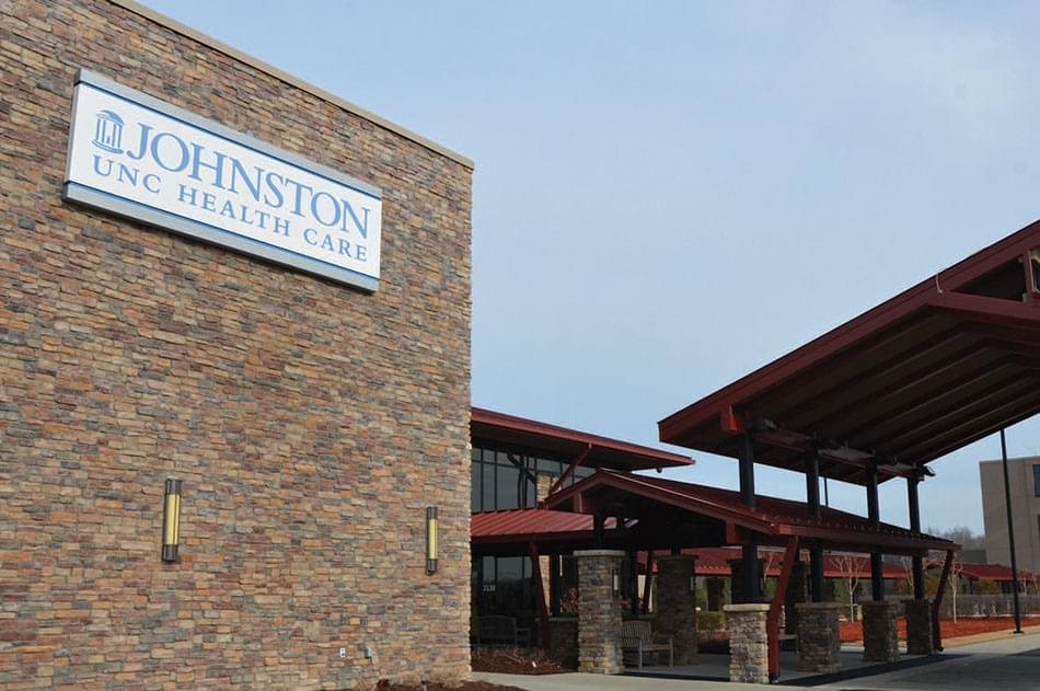 Johnston UNC Health Care Sign