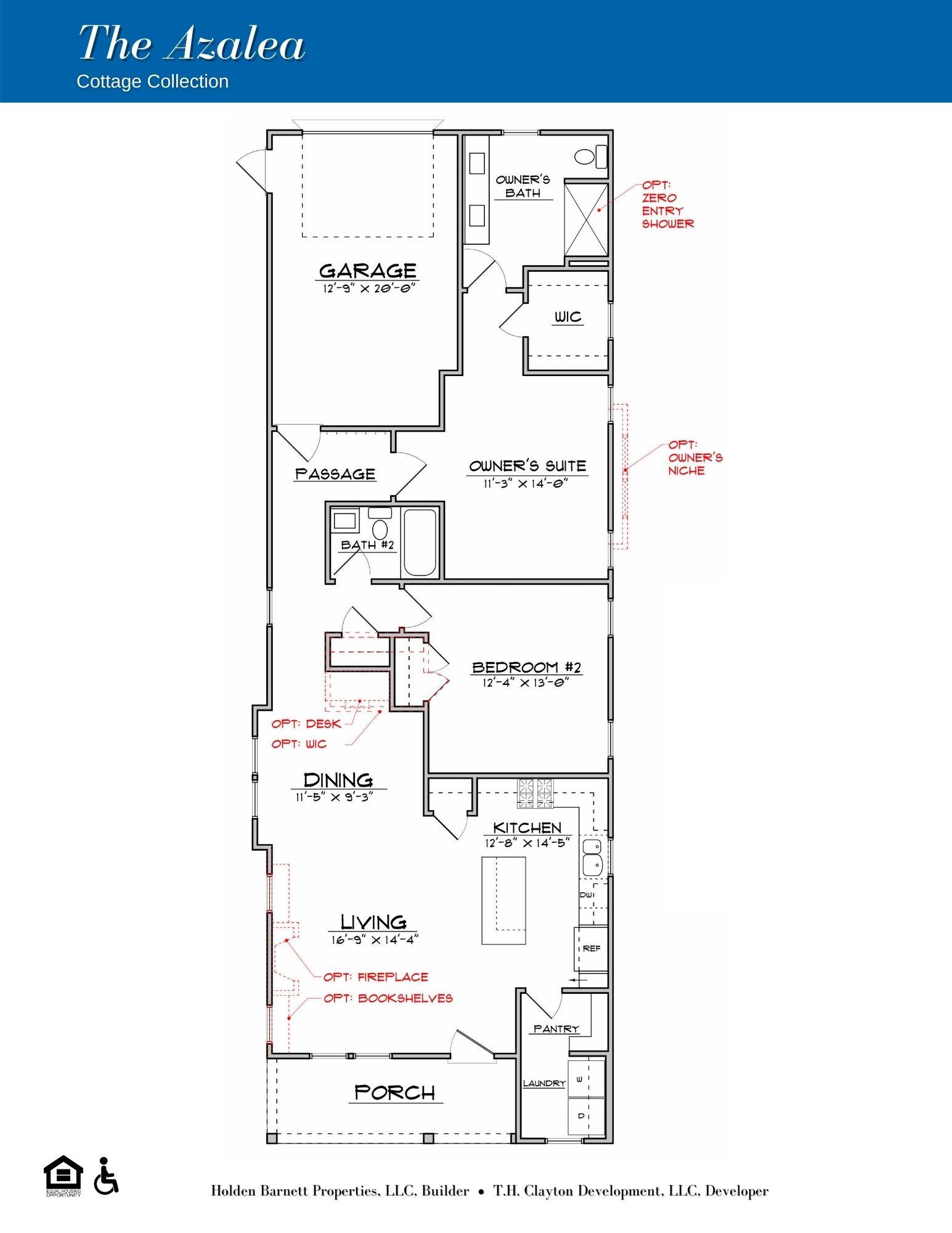 The Azalea Ranch Floorplan