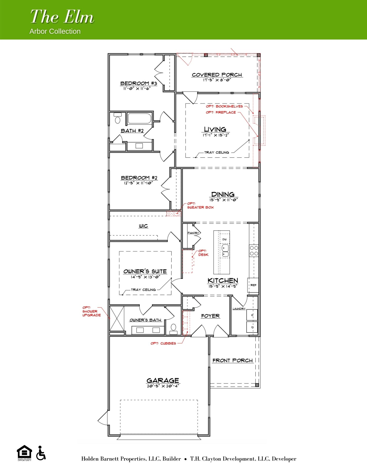 The Elm First Floor Floorplan