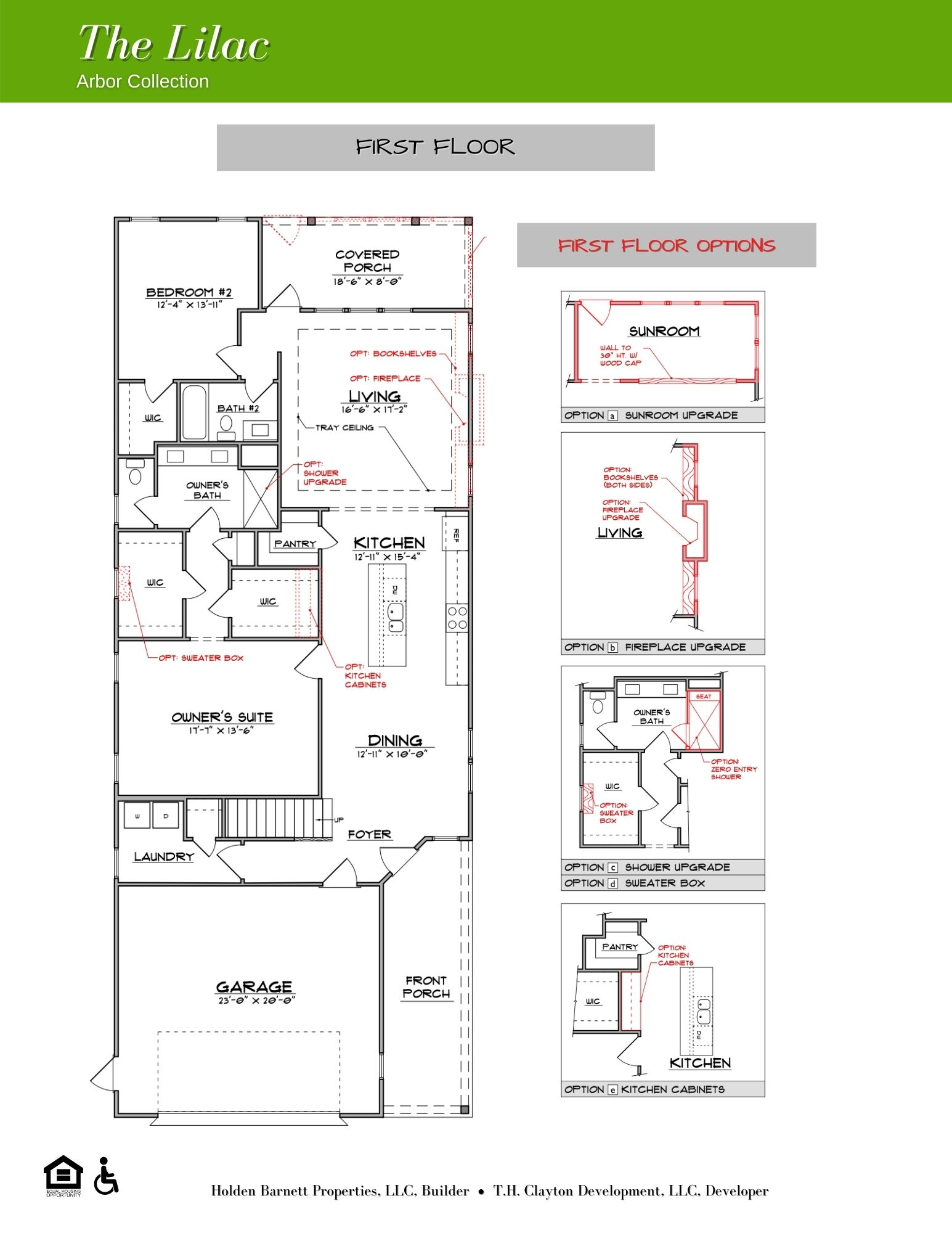 The Lilac First Floor Floorplan