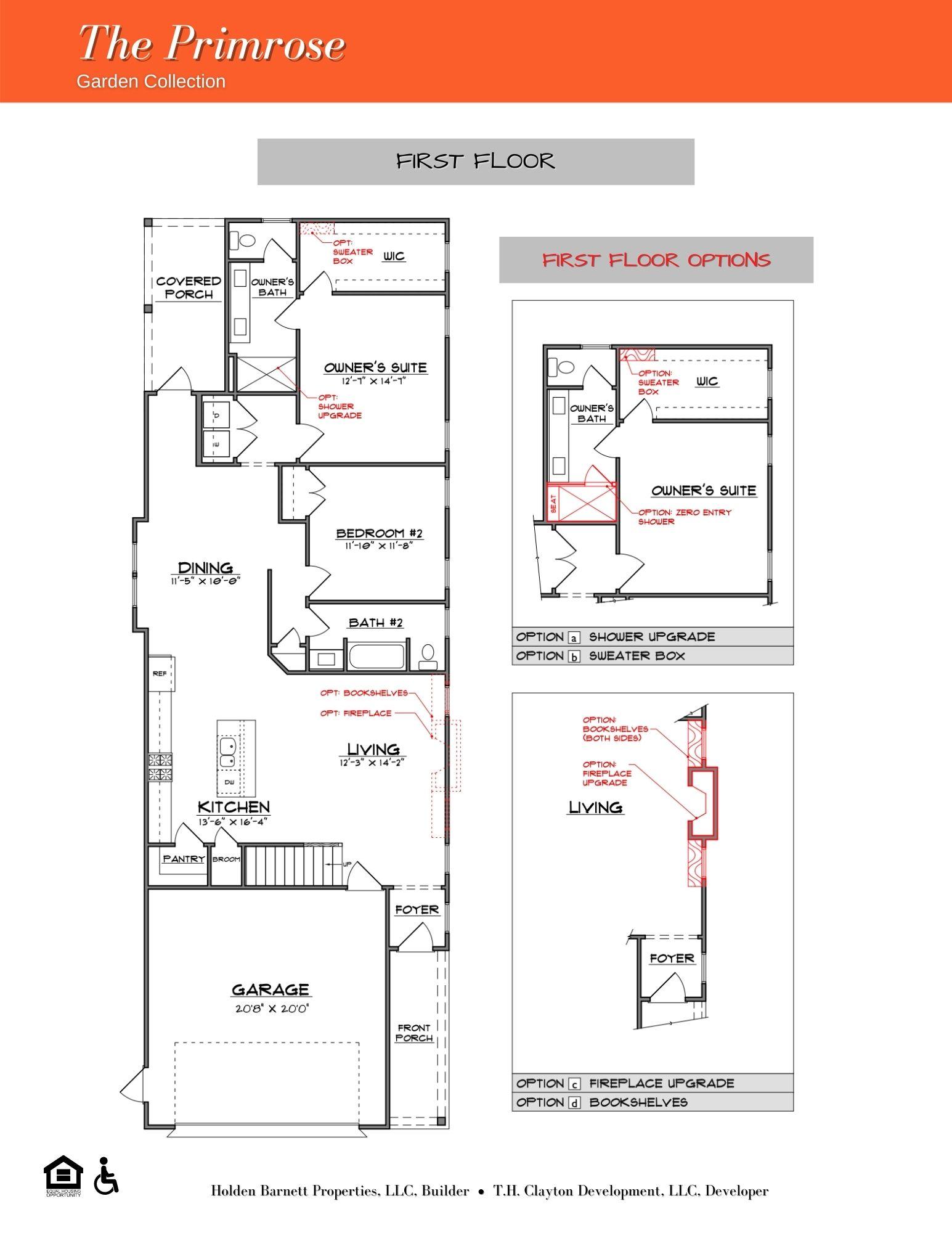 The Primrose First Floor Plan
