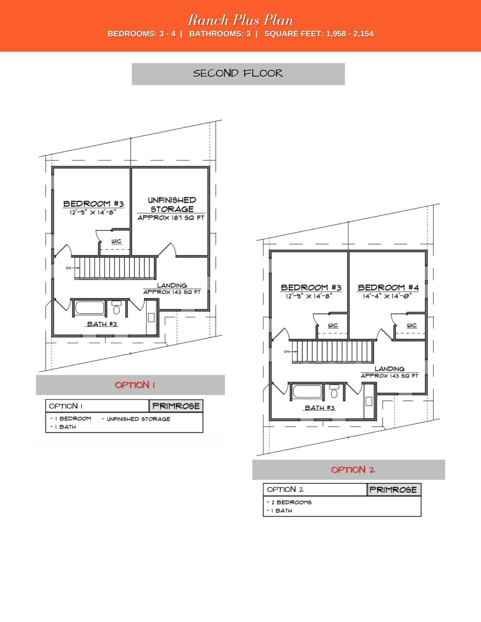 The Walk at East Village's Primrose 2nd Floor Plan