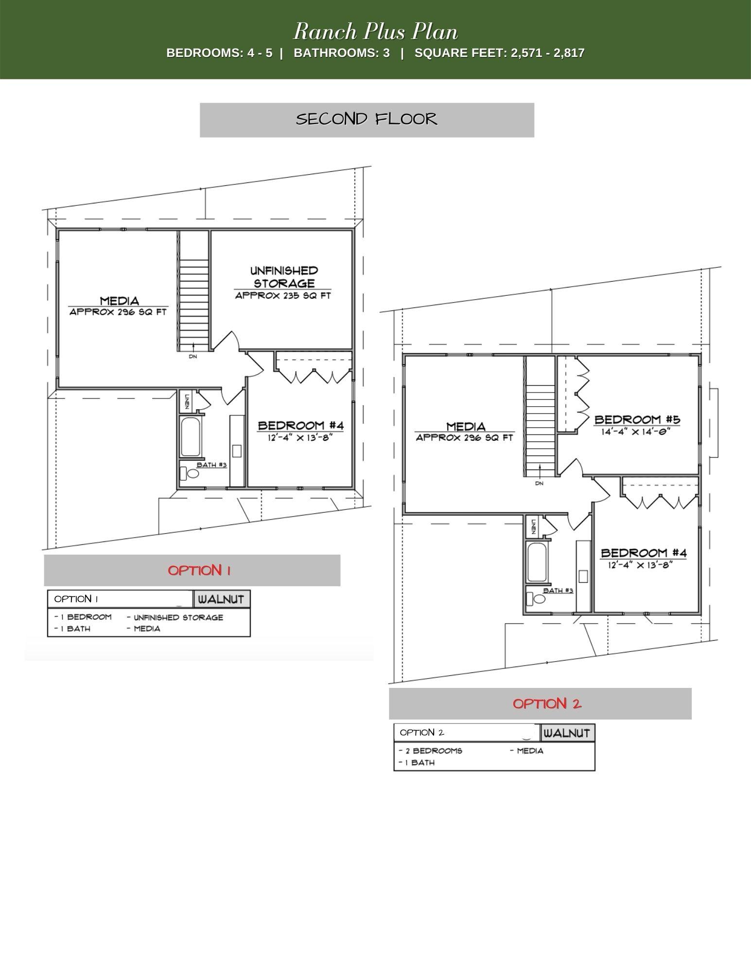 Walnut 2nd Floor Plan