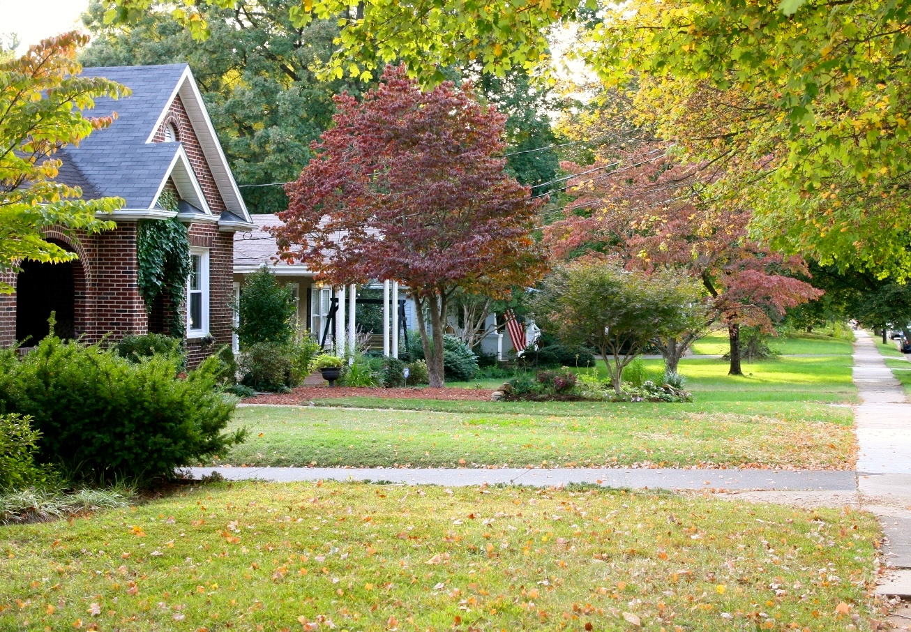 Picture of a home in Winston-Salem with a lush green lawn.