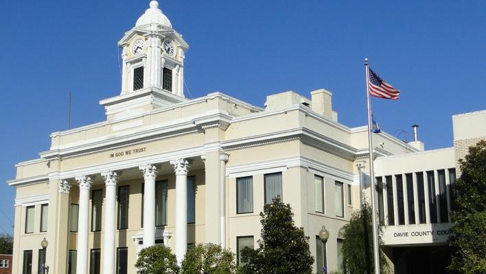 Mocksville court house