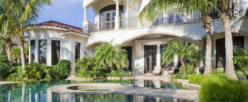 stunning luxury resort home
