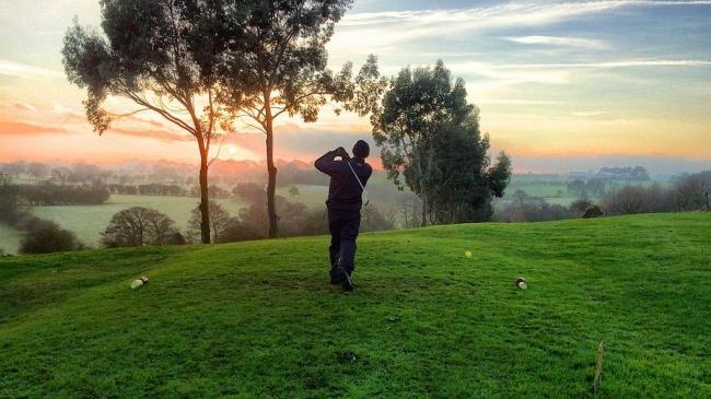 Scenic golf vistas await in the new Bears Den Club.