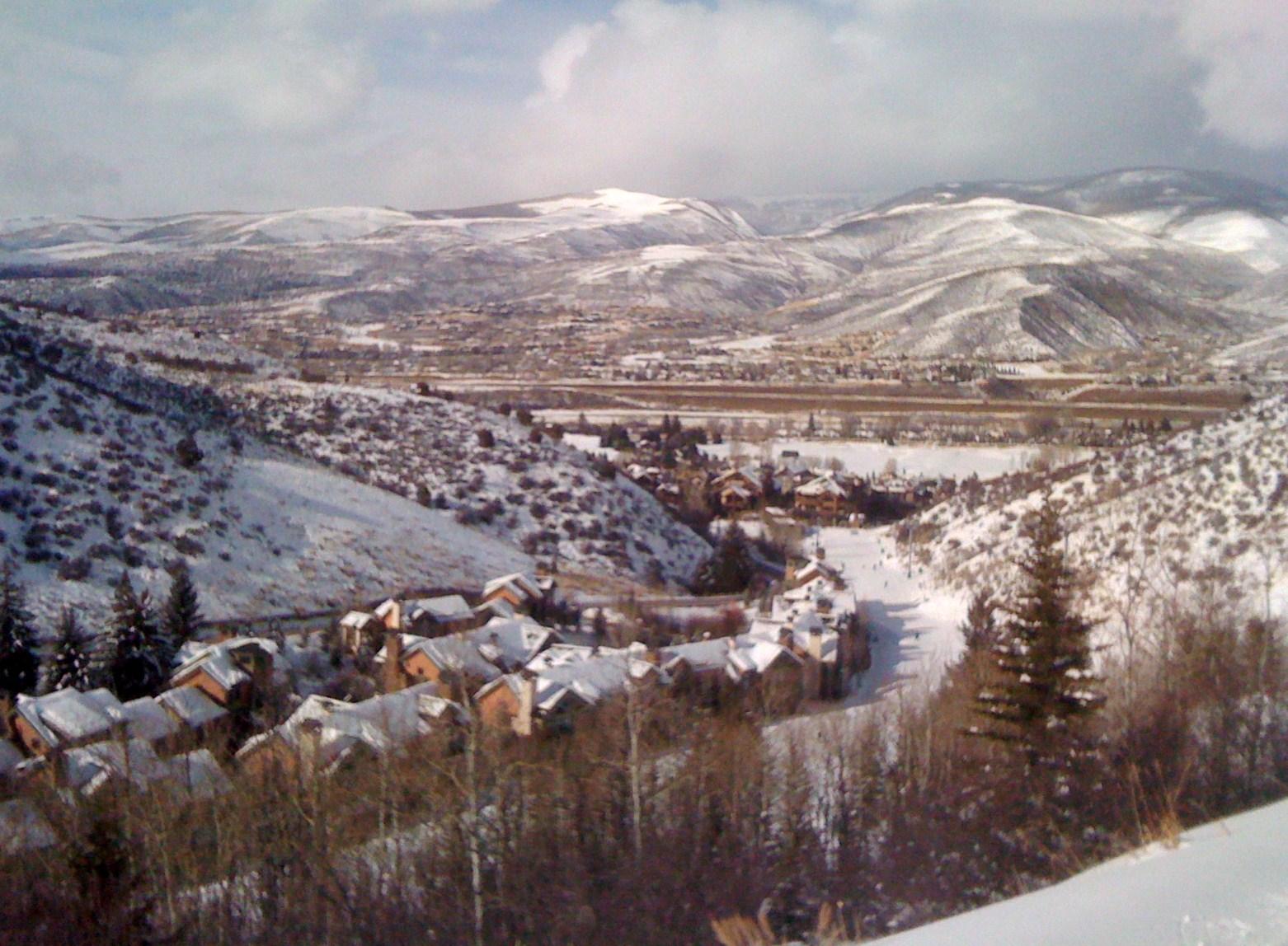 skiing at arrowhead