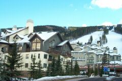 A view of Oxford Court townhomes in Beaver Creek.