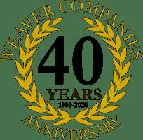 Weaver Companies Anniversary 40 Years