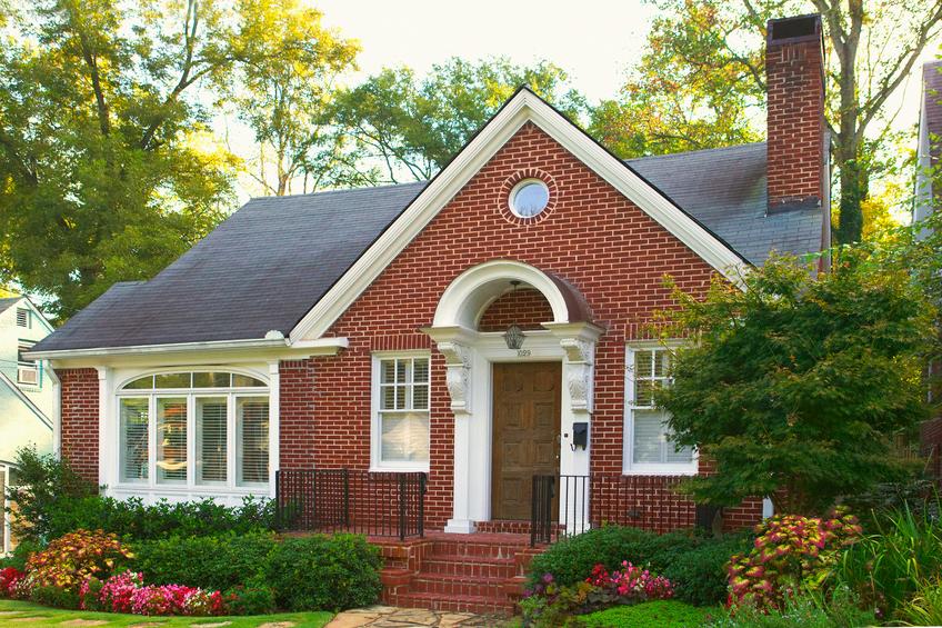 charming brick house