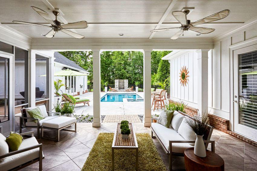 beautiful indoor outdoor living