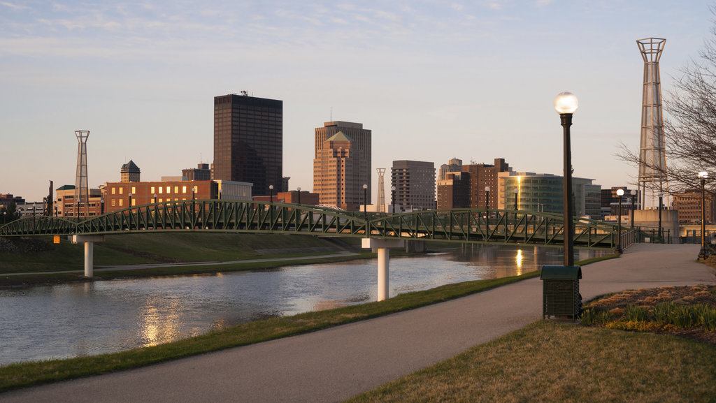 photo of buildings in Downtown Dayton, OH