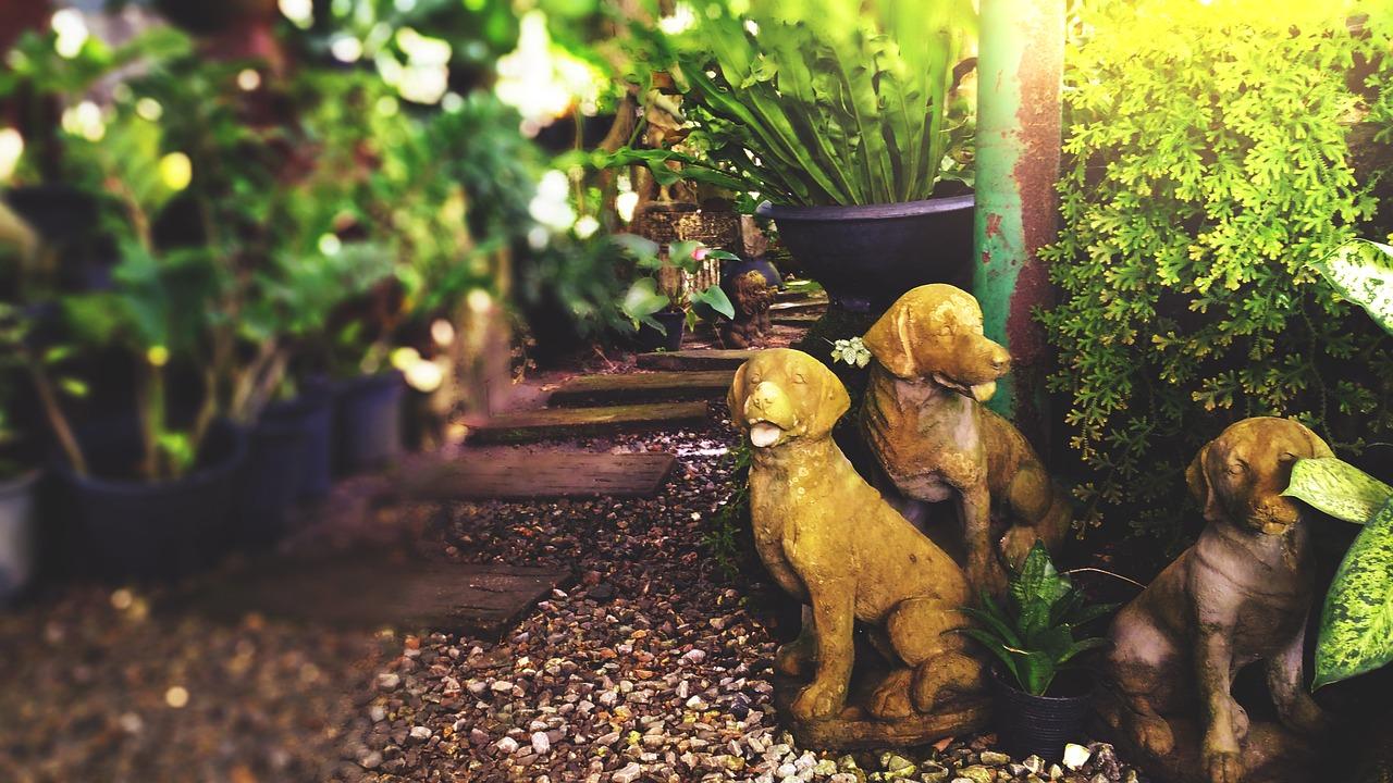 hamilton statue garden